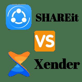 SHAREIT vs Xender